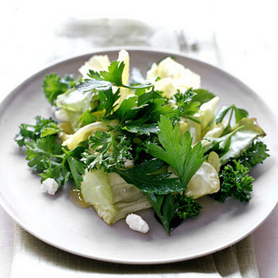 Herb Salad with Feta