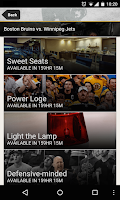Screenshot of Boston Bruins Official App