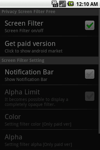 Privacy Screen Filter Free