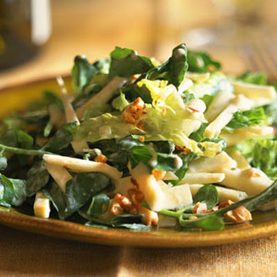 Celery Root-Watercress Salad with Creamy Dijon Dressing