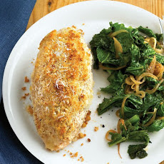 Pecorino-Crusted Chicken