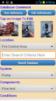Screenshot of Fire Sprinkler Inspections