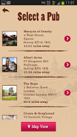 Screenshot of Kozel Pint Finder