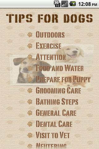 iTips For Dog Care Lite