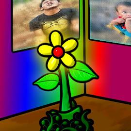 bunga by Akhyu Chieu - Digital Art Things