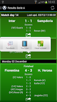 Screenshot of Italian Football 2014/2015