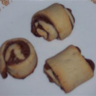 Rugelach with Cream Cheese Filling