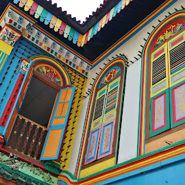 Colourful Windows by Koh Chip Whye - Buildings & Architecture Other Exteriors (  )