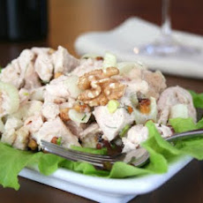 Fennel Walnut Chicken Salad