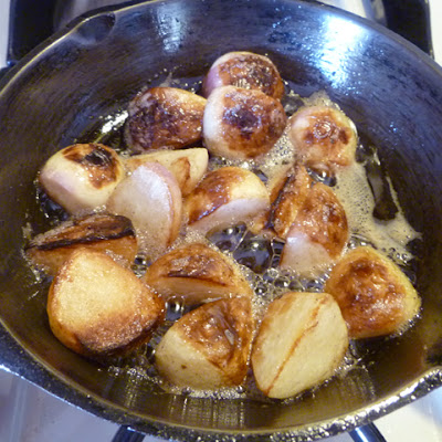 Browned Butter Baby Turnips