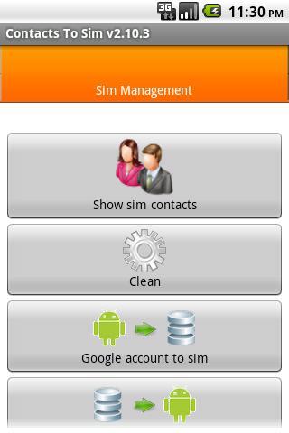 Contacts2SIM Pro