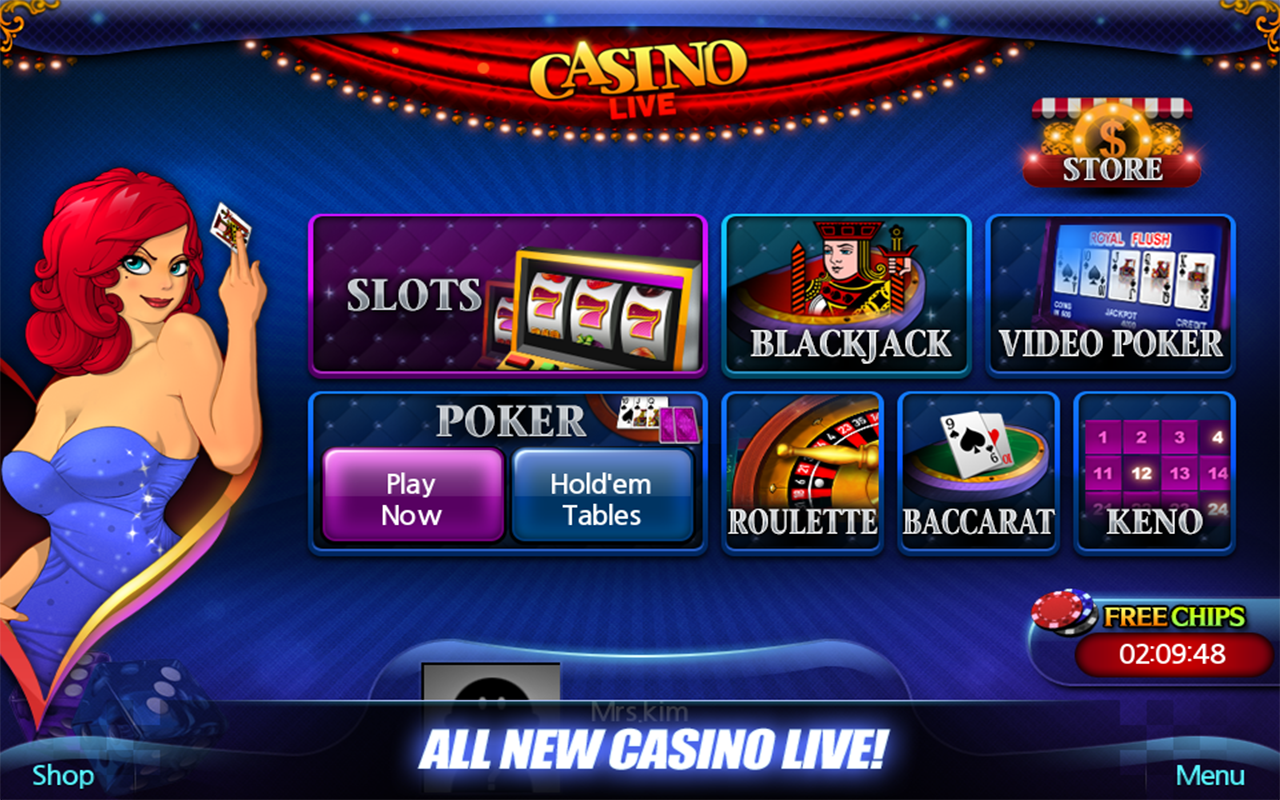 Free casino slots and video poker card casino line poker three