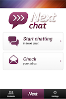 Screenshot of Next Chat Anonymous Dating