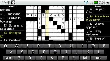 Screenshot of Crosswords Plus