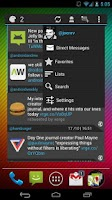 Screenshot of Falcon Widget (for Twitter)