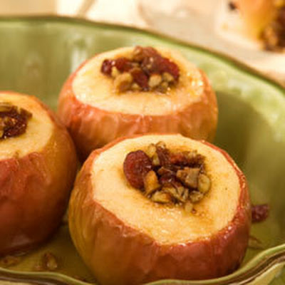 Oven-baked Harvest Apples