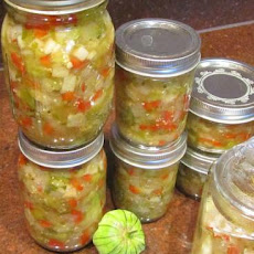 Tomatillo or Green Tomato Apple Salsa