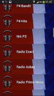 Norges Radio - screenshot
