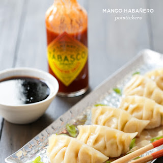 Mango Habanero Pot Stickers