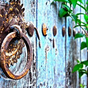 DoorRing  by Jo Polyxromos - Artistic Objects Antiques ( greece, door, antiues )