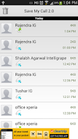 Screenshot of Save My Call 2.0