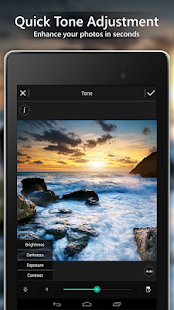 PhotoDirector Photo Editor App, Picture Editor Pro Screenshot