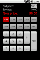Screenshot of Discount Calculator - Simple