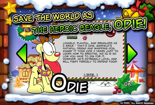 Garfield Saves The Holidays - screenshot