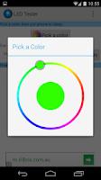 Screenshot of LED Color Tester
