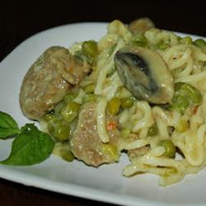 Turkey Sausage Noodles
