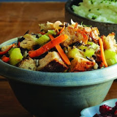 Whole-Wheat Dressing with Wild Rice