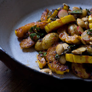 Roasted Delicata Squash Salad