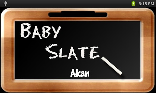Baby Slate - Akan - screenshot