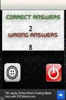 Screenshot of Flag Wheel Quiz