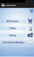 Screenshot of LoadCentral Retailer's App
