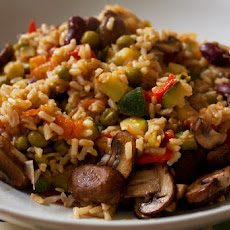 Veggie Brown Rice Medley