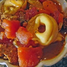 Sausage Soup With Tortellini