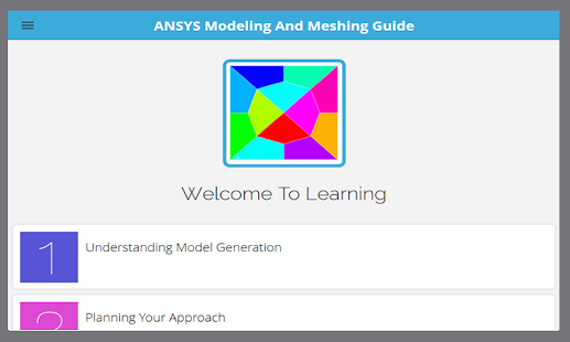 Learn ANSYS Tutorial - screenshot