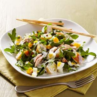 Smoked Trout, Potato & Arugula Salad