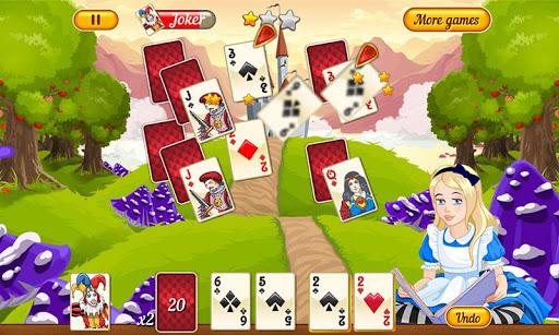 Neverland Solitaire - screenshot