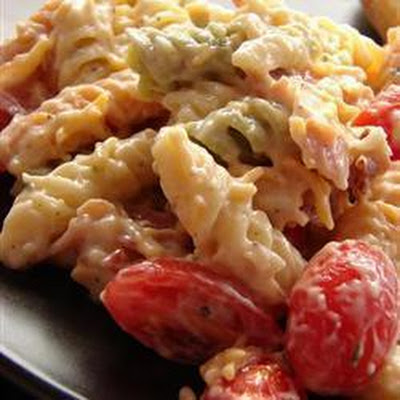 Cheesy Bacon Pasta Salad