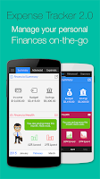Screenshot of Expense Tracker 2.0 - Finance