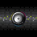 Speaker Polkadot Visualization icon