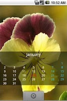 Screenshot of Wall calendar