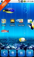 Screenshot of [Live] MX Free Theme Aquarium