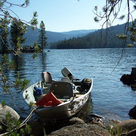 Huntington Lake, CA by Rich Frank - Transportation Boats