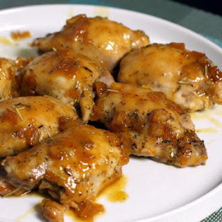 Chicken Thighs With Orange Sauce