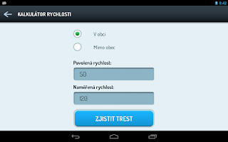 Screenshot of Czech Point System