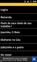 Screenshot of Piadinhas Adultas