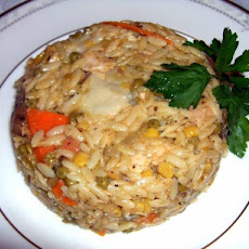 Stove Top Tuna Noodle With Orzo (Reduced Fat)